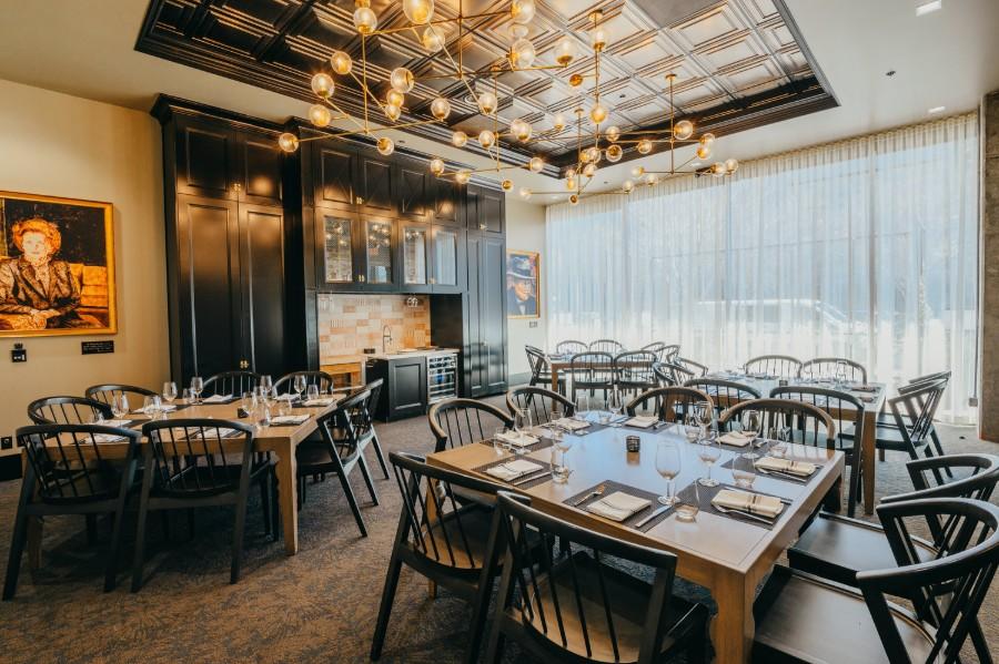 Camden Spit & Larder dining area