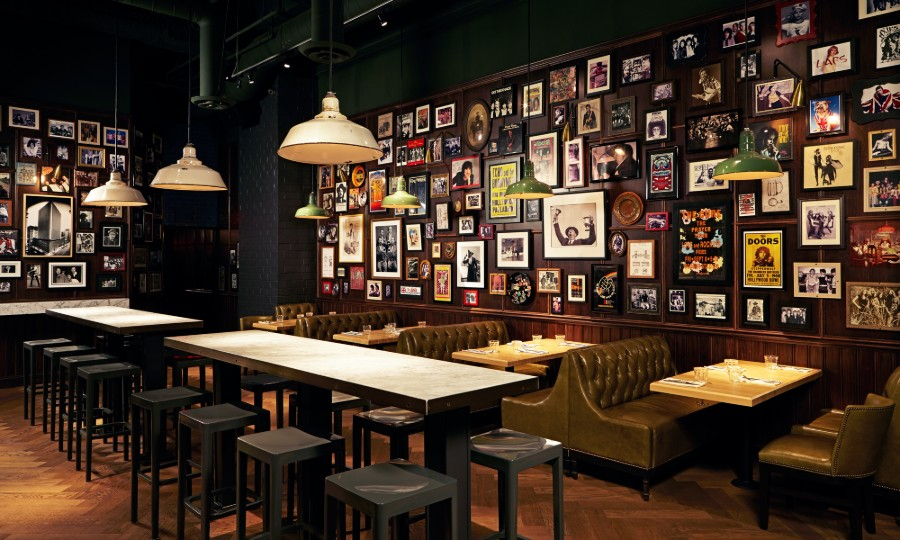Beelman's Pub Interior Design