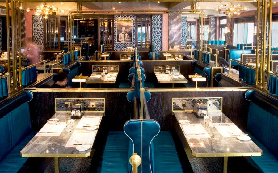 David Collins restaurant decor ideas