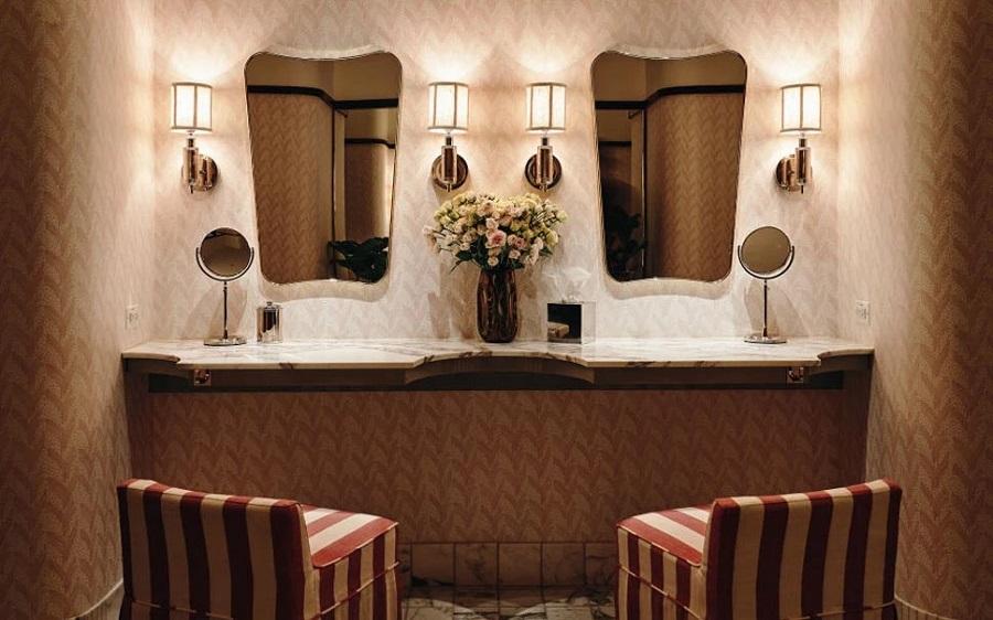 Bathroom restaurant decor ideas
