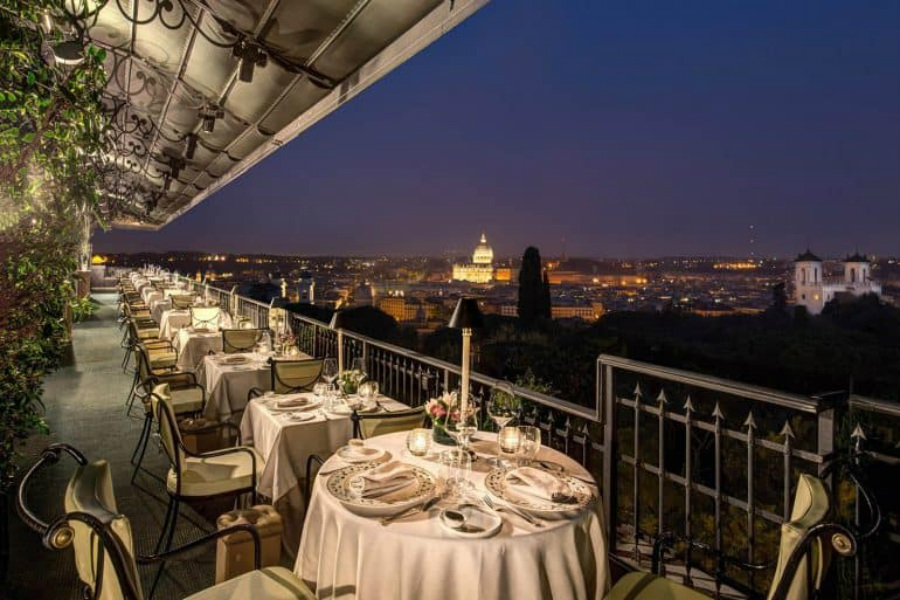 Restaurants With a View: The Go-Tos When in Rome