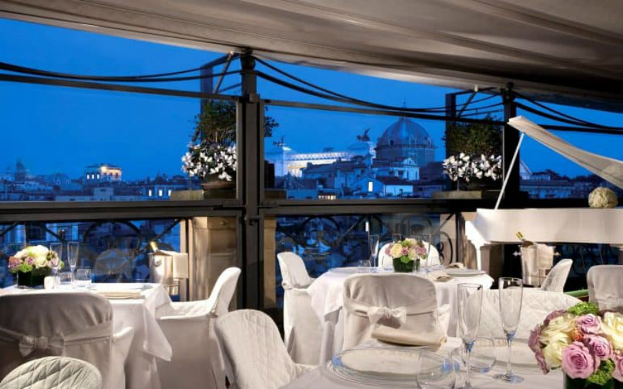 Restaurants With a View The Go-Tos When in Rome