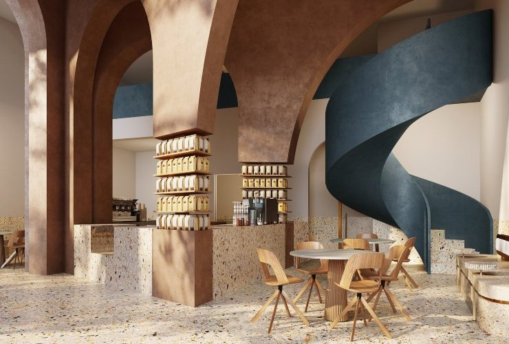 AZAZ Architects New Project Deco Temple, Elixir Bunn Coffee Roasters