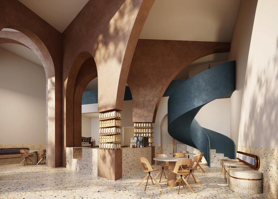 AZAZ Architects New Project Deco Temple, Elixir Bunn Coffee Roasters