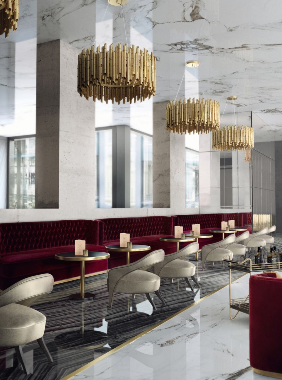 Inspiration and Ideas For A Modern Contemporary Restaurant and Bar Design