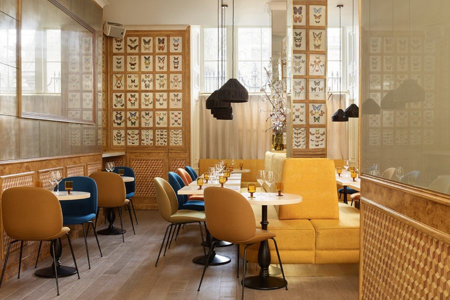 Chess Club and Restaurant - Designed by Fran Hickman for Experimental Group