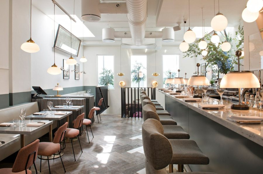 Emelie Bonaventure and Frenchie - The Go-To Restaurant on Covent Garden