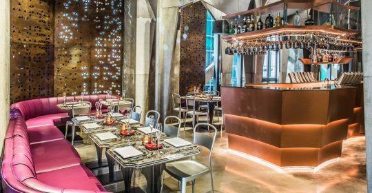 Futuristic Restaurant Design: Castello 4 by Michael Liu