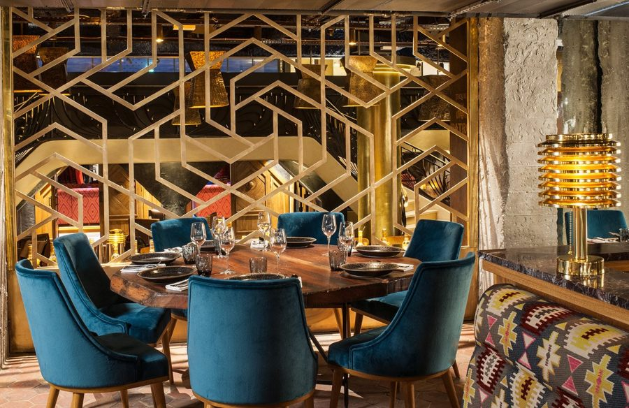 Laura Gonzales and the Manko Paris Restaurant and Bar Design Project