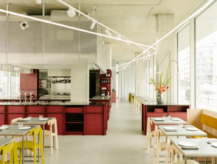 Remi Restaurant in Berlin by Ester Bruzkus Architekten