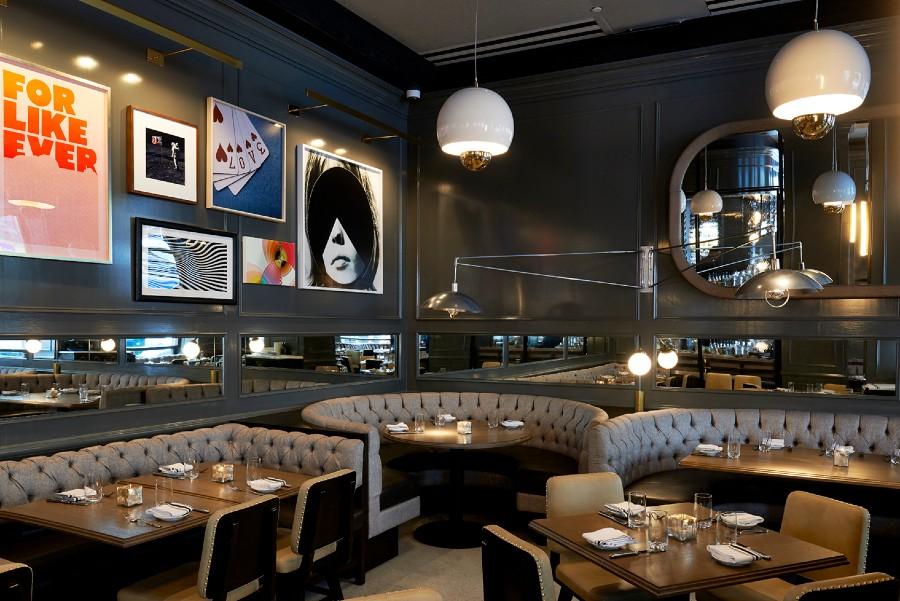 The Wayfarer bar interior design by Meyer Davis Studio (1)