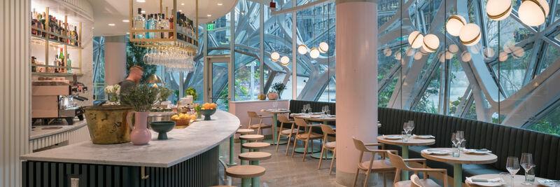 Willmott's Ghost, A Dazzling Restaurant Design to Behold