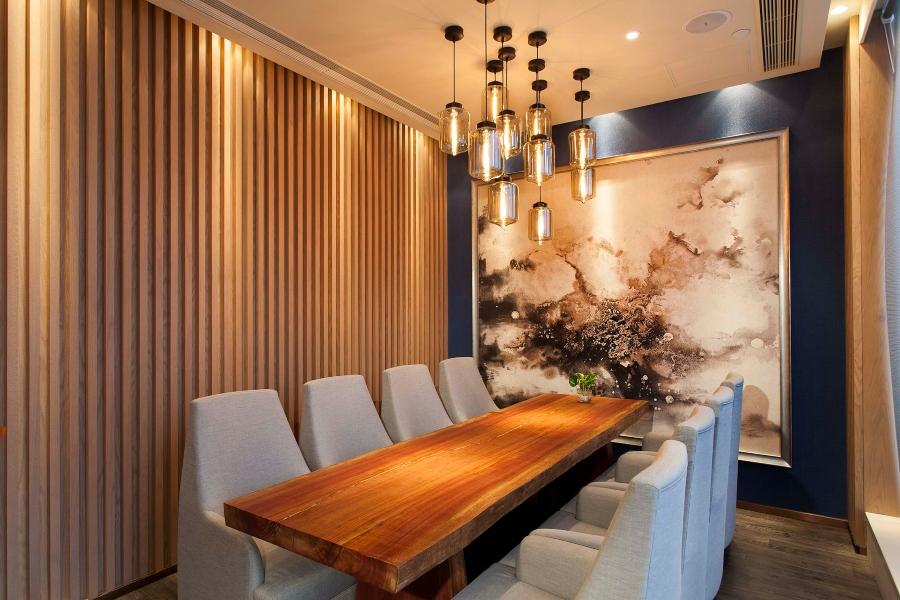 fancy restaurant decor