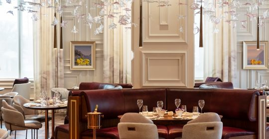 The Johnson Studio at Cooper Carry: The Most Extraordinary Restaurants