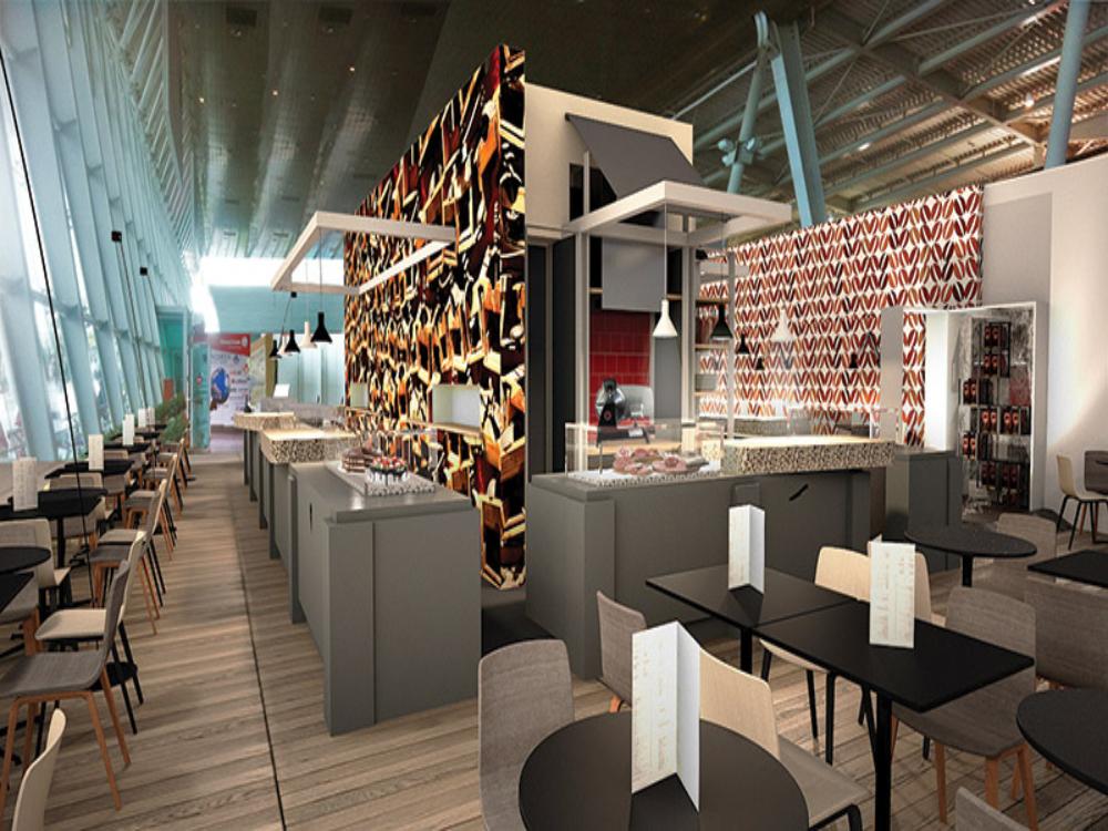 Modern Restaurant Interior Design by Studio ARKjPAN.