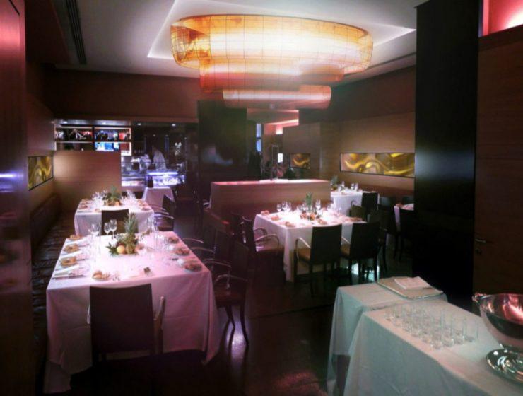 Classic Restaurant Interior Design by Beretta Associati