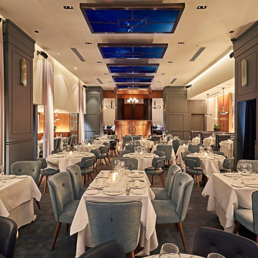 Wonderful Elegant Restaurant Decor by Studio Gronda