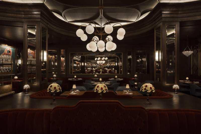 Get Inspired By Martin Brudnizki Design Studio's Restaurant Decorations